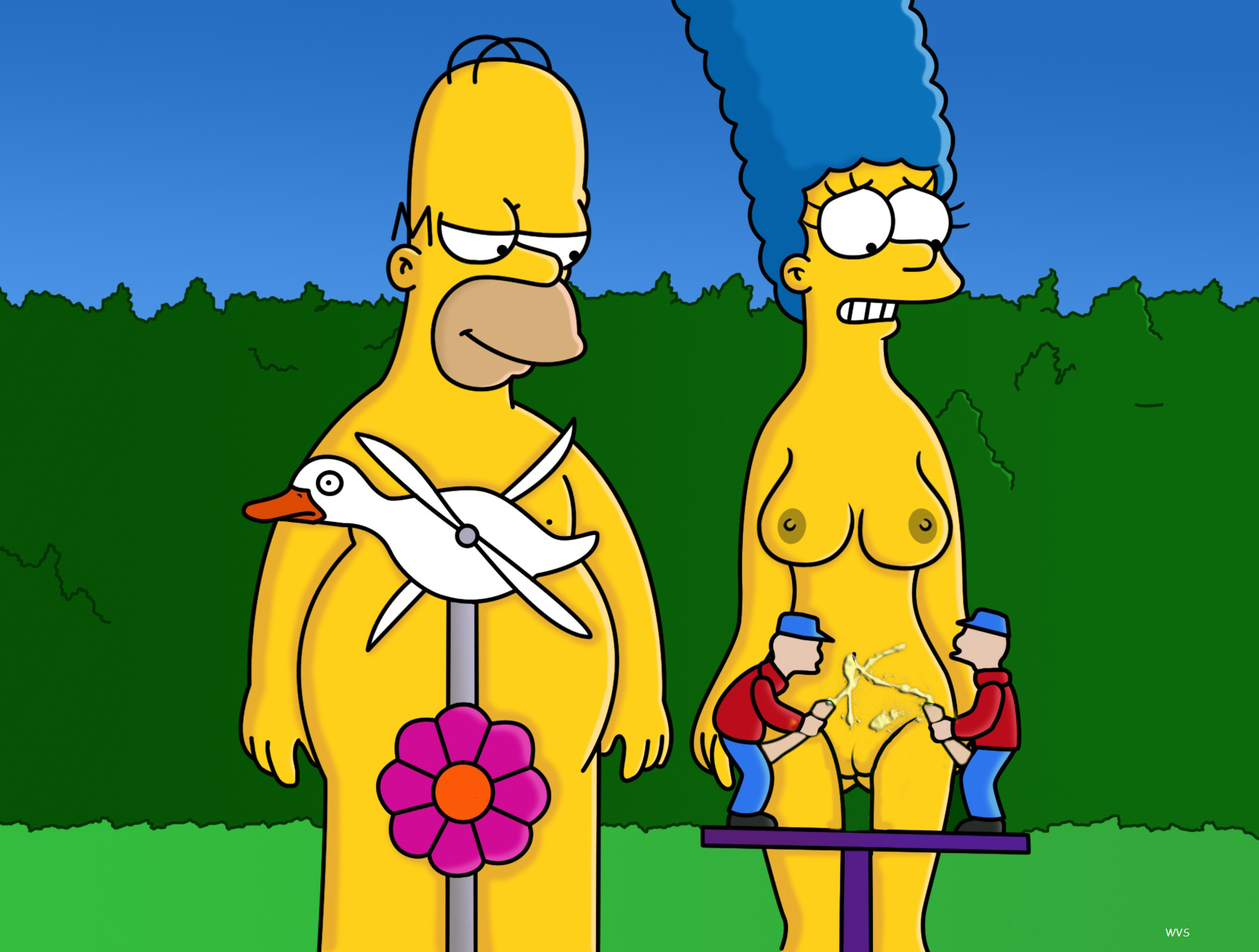 Marge simpson marge nackt