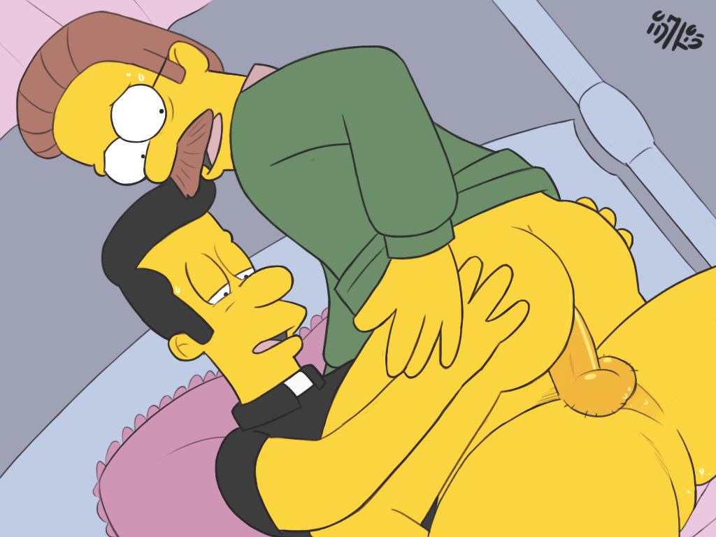 des Simpson gay porno