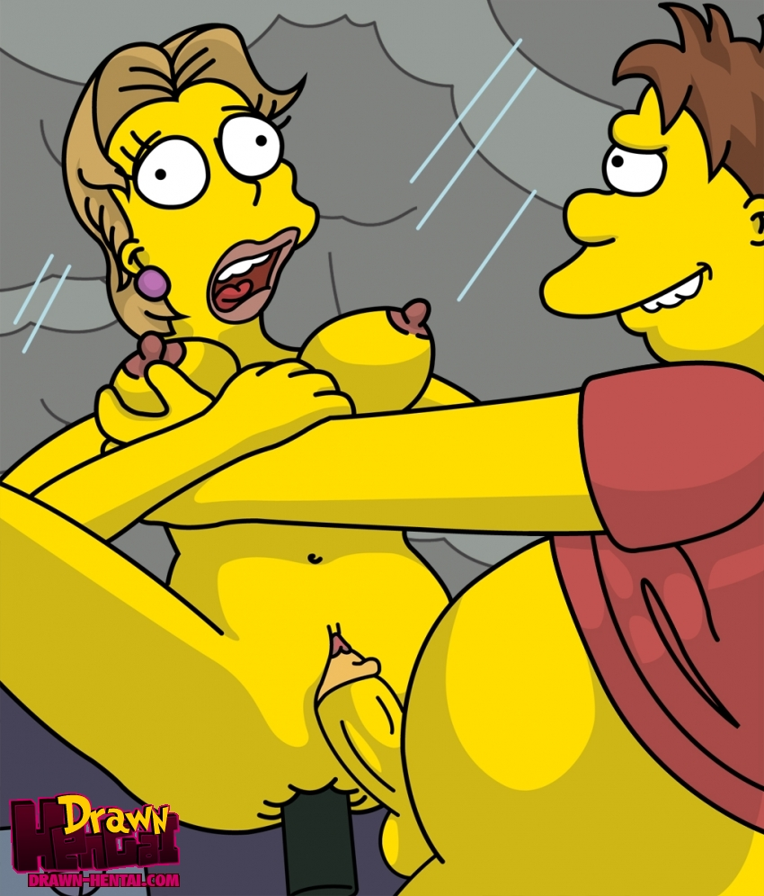 Simpsons drawn porn