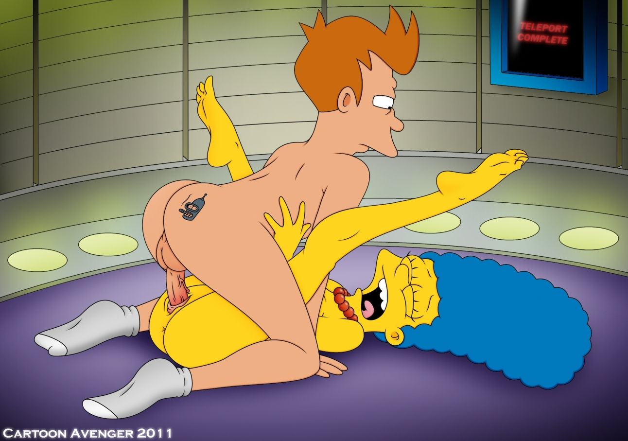 Porno Cartoons Simpsons Futurama