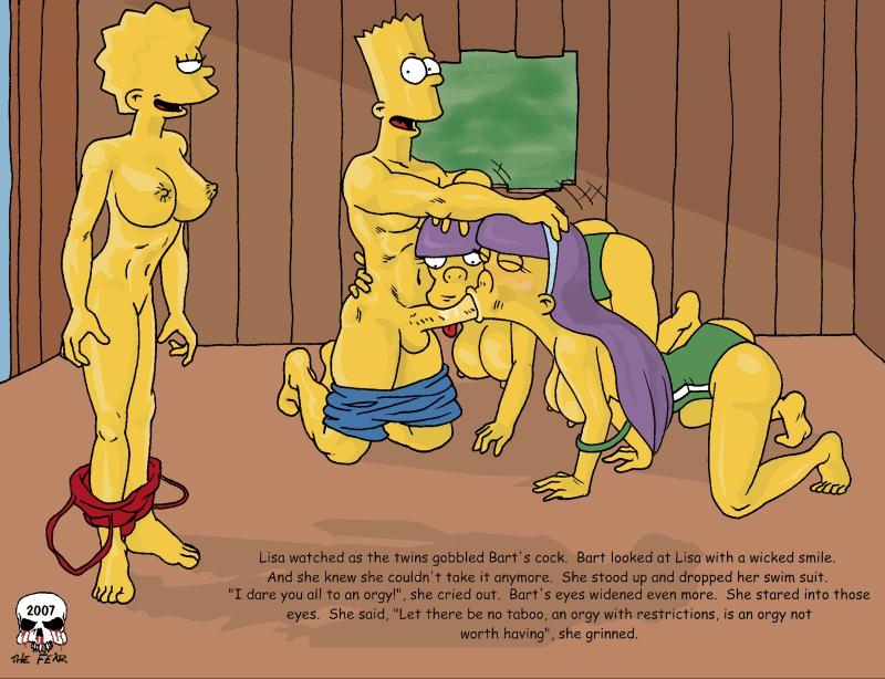 Simpsons porn fear comics
