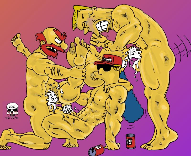 bart lisa desnudos y simpson