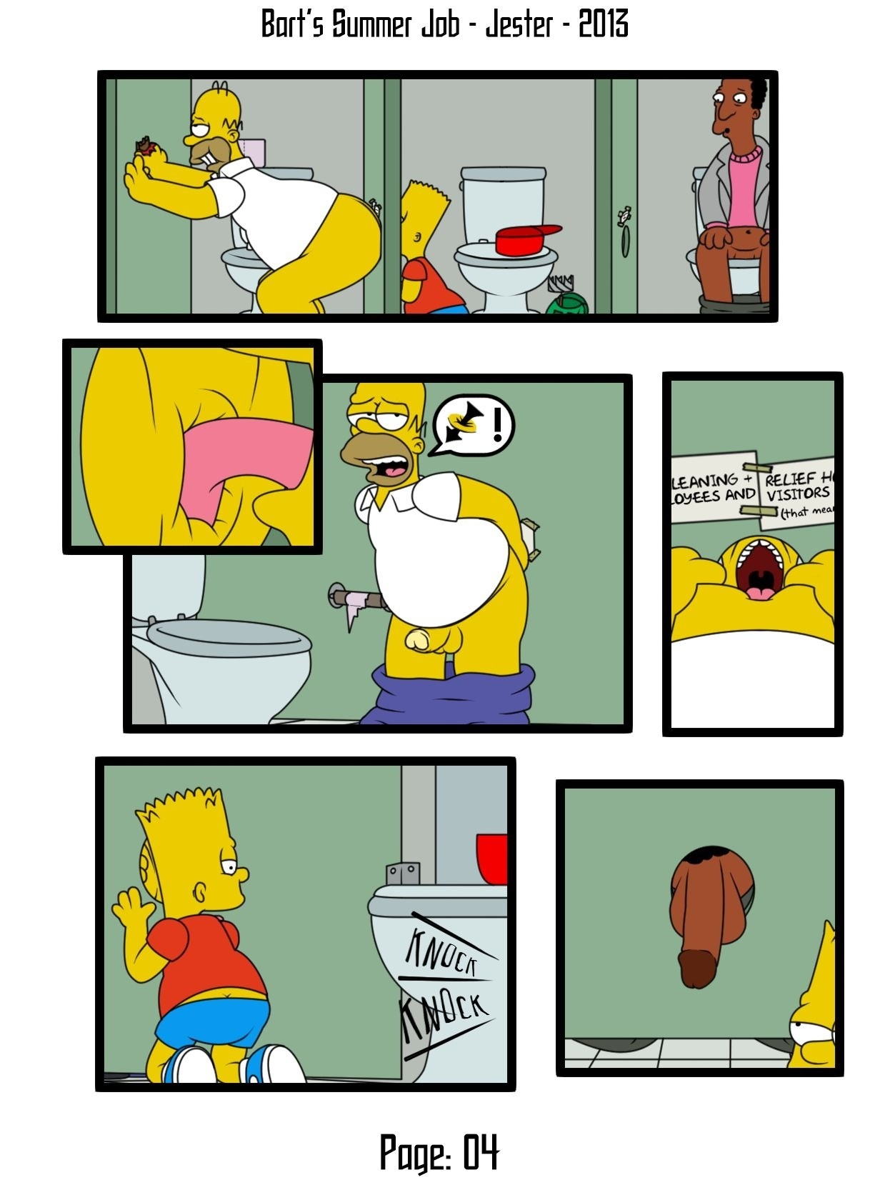 Bart and homer porn
