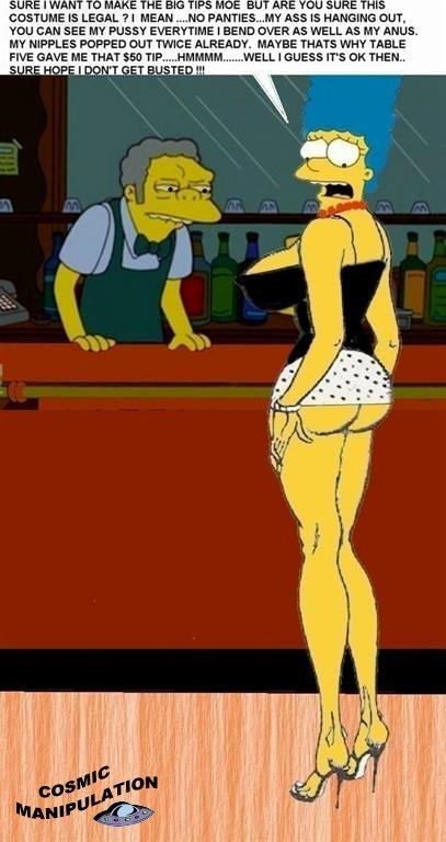 the simpsons slut porn