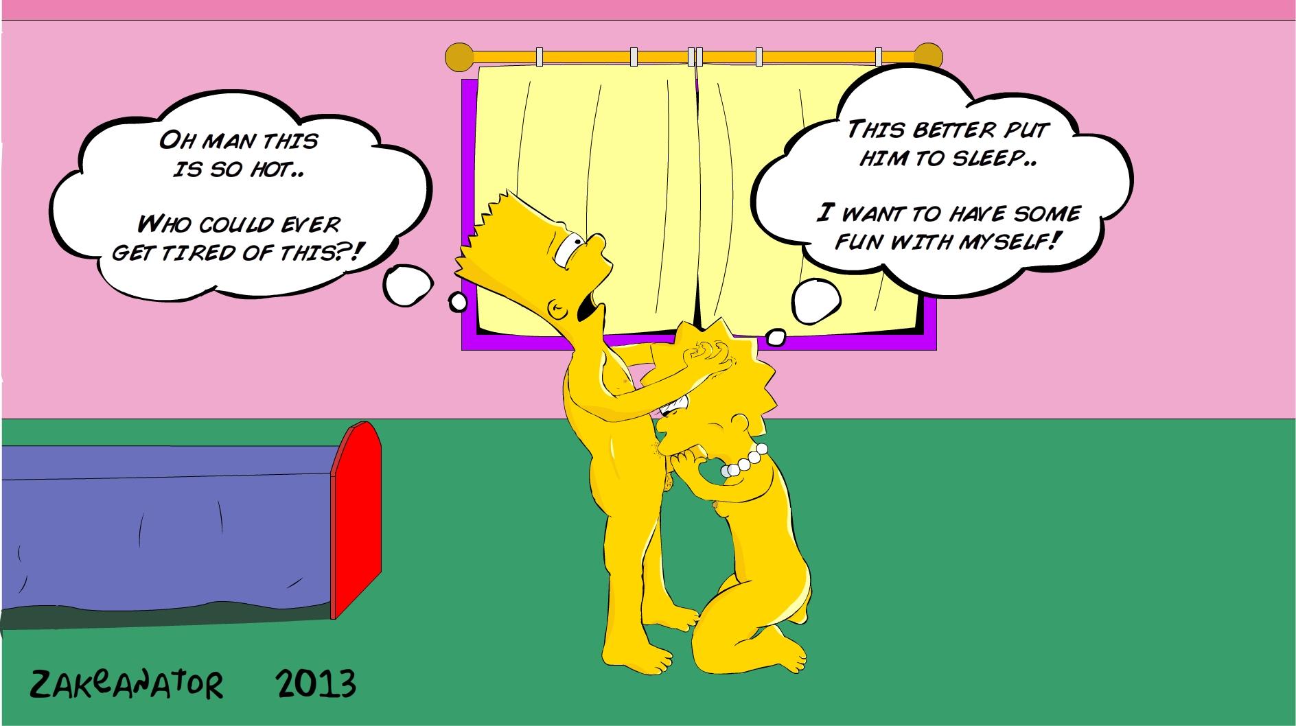 Симпсоны порно лиза сосет 1 фотография
