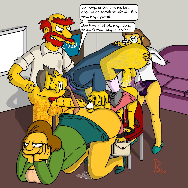 Симпсоны мисис крабапл порно 7 фотография