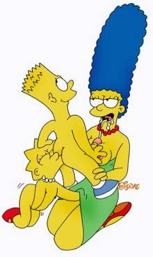 #pic80206: Bart Simpson – Lisa Simpson – Marge Simpson – The Simpsons – disnae