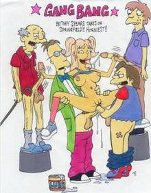 #pic74931: Abom – Britney Spears – Jeremy Freedman – Nelson Muntz – Old jewish man – Professor Frink – Squeaky Voiced Teen – The Simpsons