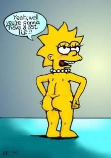 #pic29942: Lisa Simpson – The Simpsons – Wolverine (artist)