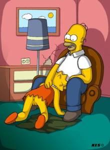 #pic28999: Homer Simpson – Kes – Lisa Simpson – The Simpsons