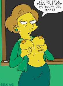 #pic25482: Edna Krabappel – The Simpsons – disnae