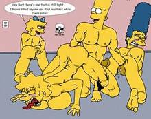 #pic19976: Bart Simpson – Lisa Simpson – Maggie Simpson – Marge Simpson – The Fear – The Simpsons