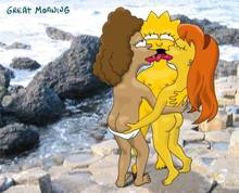 #pic18913: Allison Taylor – Janey Powell – Lisa Simpson – The Simpsons – great moaning
