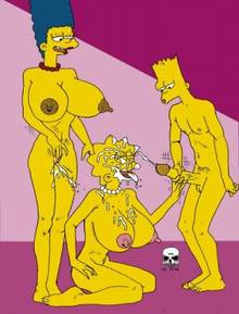 #pic238539: Bart Simpson – Lisa Simpson – Marge Simpson – The Fear – The Simpsons