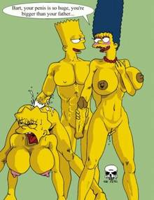 #pic238535: Bart Simpson – Lisa Simpson – Marge Simpson – The Fear – The Simpsons