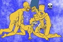 #pic238527: Bart Simpson – Homer Simpson – Lisa Simpson – Marge Simpson – The Fear – The Simpsons