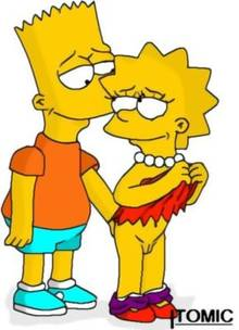 #pic238292: Bart Simpson – Lisa Simpson – The Simpsons – itomic