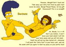 #pic238293: Marge Simpson – Maude Flanders – Sexsons – The Simpsons – ross