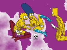 #pic237995: Bart Simpson – Lisa Simpson – Marge Simpson – The Fear – The Simpsons