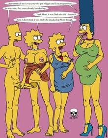 #pic237097: Bart Simpson – Lisa Simpson – Maggie Simpson – Marge Simpson – The Fear – The Simpsons