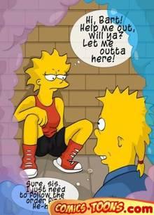 #pic145959: Bart Simpson – Lisa Simpson – The Simpsons – comics-toons
