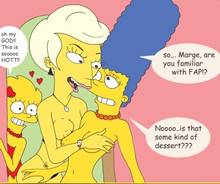 #pic145289: Lindsey Naegle – Lisa Simpson – Marge Simpson – The Simpsons