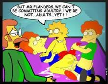 #pic145287: Lisa Simpson – Ned Flanders – Rod Flanders – The Simpsons – Todd Flanders