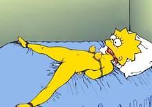 #pic143175: Lisa Simpson – The Simpsons – Wolverine (artist)