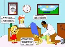 #pic305494: Julius Hibbert – Lisa Simpson – Marge Simpson – The Simpsons – animated