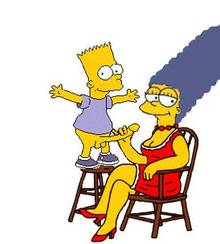 #pic304806: Bart Simpson – Marge Simpson – The Simpsons – animated