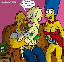 #pic304176: Homer Simpson – Lisa Simpson – Marge Simpson – The Simpsons – nev