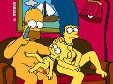 #pic304072: Homer Simpson – Lisa Simpson – Marge Simpson – The Simpsons – animated