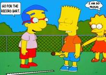 #pic304096: Bart Simpson – Lisa Simpson – Milhouse Van Houten – The Simpsons – animated