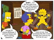 #pic322974: Animal – Bart Simpson – Lisa Simpson – Milhouse Van Houten – The Simpsons