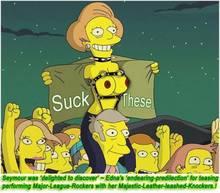 #pic318906: Edna Krabappel – Mole – Seymour Skinner – The Simpsons