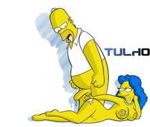 #pic311853: Homer Simpson – Marge Simpson – The Simpsons – Tulio