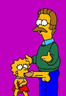#pic850688: Lisa Simpson – Ned Flanders – The Simpsons