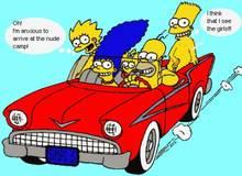 #pic850682: Bart Simpson – Homer Simpson – Lisa Simpson – Maggie Simpson – Marge Simpson – The Simpsons – animated