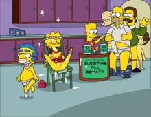 #pic369625: Bart Simpson – Homer Simpson – Lisa Simpson – Milhouse Van Houten – Montgomery Burns – Ned Flanders – Rod Flanders – The Simpsons