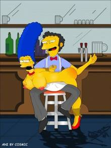 #pic369128: Marge Simpson – Moe Szyslak – The Simpsons – animated
