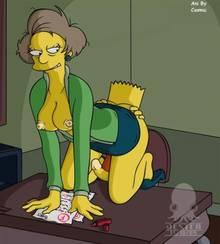 #pic367072: Bart Simpson – Edna Krabappel – Jester – The Simpsons – animated