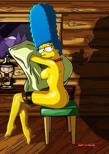 #pic366835: Darkmatter – Marge Simpson – Playboy – The Simpsons