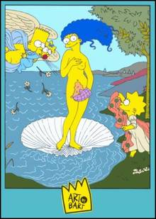 #pic364421: Bart Simpson – Lisa Simpson – Maggie Simpson – Marge Simpson – The Simpsons