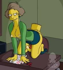#pic365566: Bart Simpson – Edna Krabappel – Jester – The Simpsons