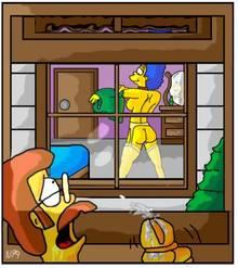 #pic362757: Bart Simpson – Maude Flanders – Ned Flanders – Pandoras Box – Rod Flanders – The Simpsons – Todd Flanders