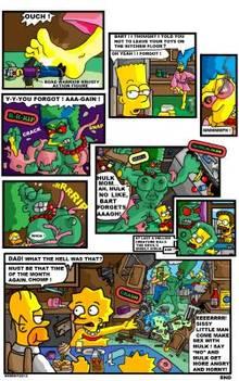 #pic1358485: Bart Simpson – Homer Simpson – Lisa Simpson – Marge Simpson – Ned Flanders – The Simpsons – comic – necron99