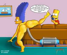 #pic357809: Bart Simpson – Marge Simpson – The Simpsons – animated – cosmanip – tooner