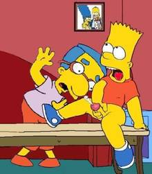 #pic357437: Bart Simpson – Milhouse Van Houten – The Simpsons