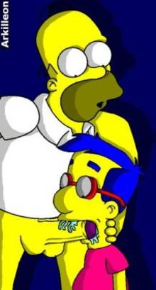 #pic297852: Homer Simpson – Milhouse Van Houten – The Simpsons – arkilleon