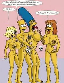 #pic280300: Bart Simpson – Lisa Simpson – Maggie Simpson – Marge Simpson – The Fear – The Simpsons